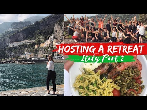 HOSTING A RETREAT | ITALY VLOG PART 2
