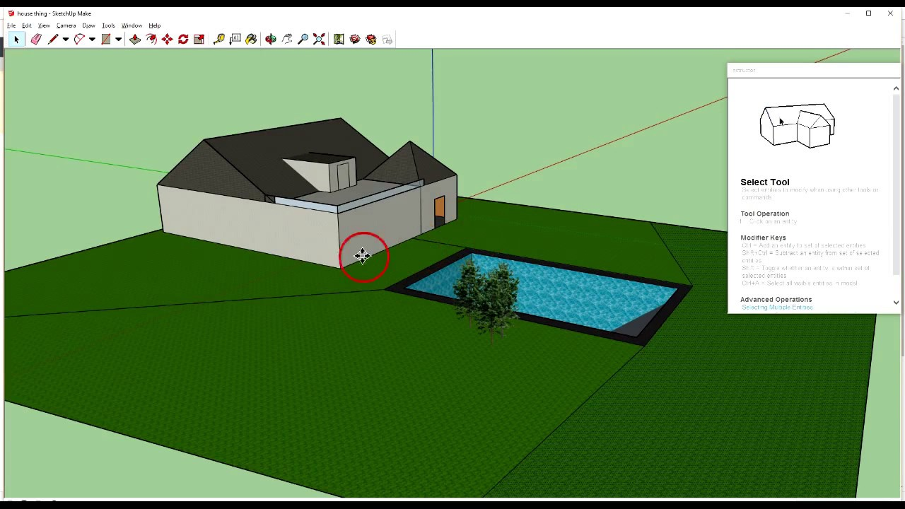 Importing 3d warehouse objects into sketchup youtube for Sketchup import