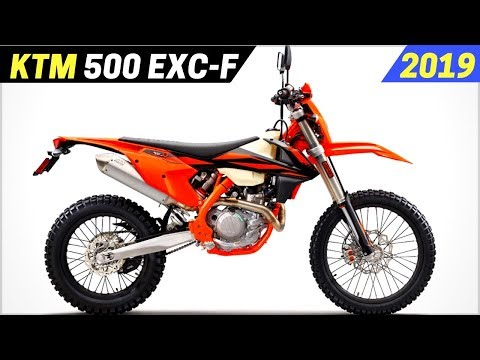 NEW  KTM  EXC-F - The Most Powerful Competition Enduro