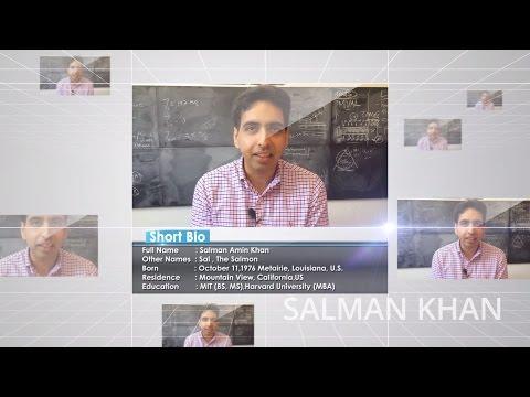 Biography of Salman Khan    Khan Academy    Full 1080HD
