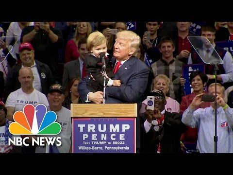 Donald Trump To Baby Look-A-Like Baby: 'You Are Much Too Good Looking' | NBC News