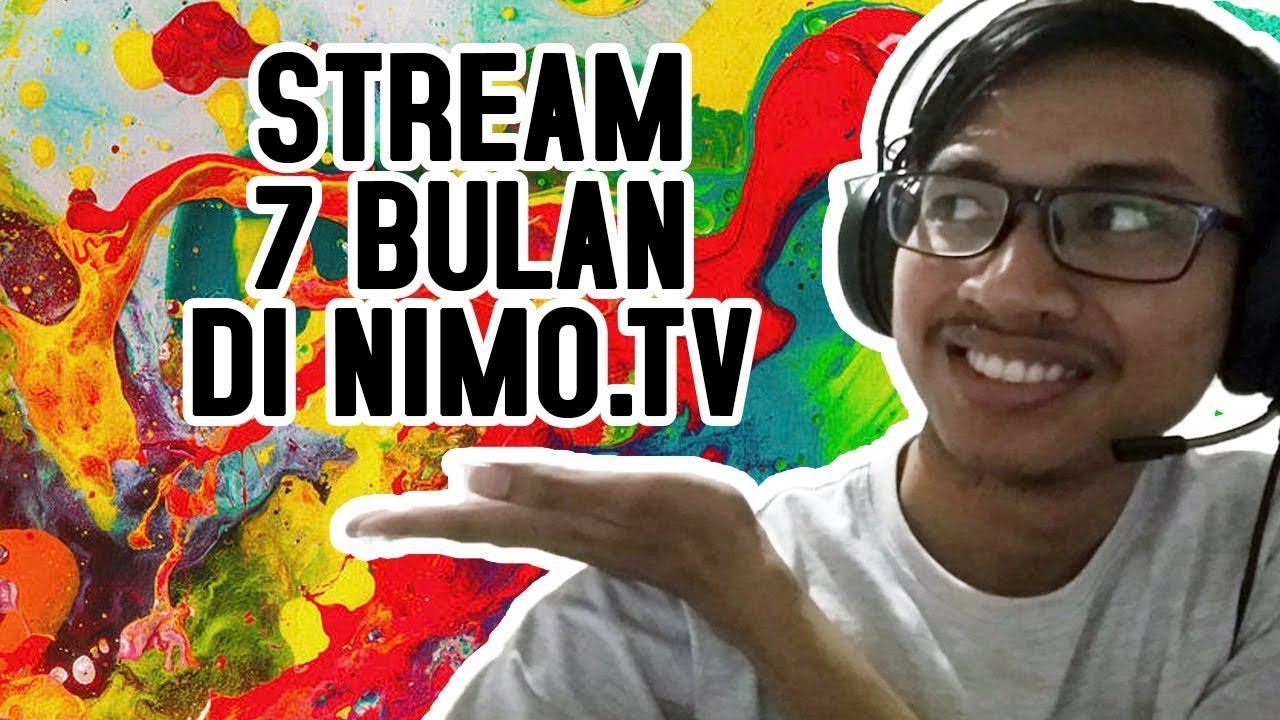 live stream gamer tajir di nimo tv