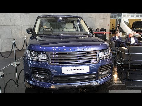 OVERFINCH RANGE ROVER LONDON EDITION - 1 of 1 - TOP MARQUES MONACO 2017 HQ