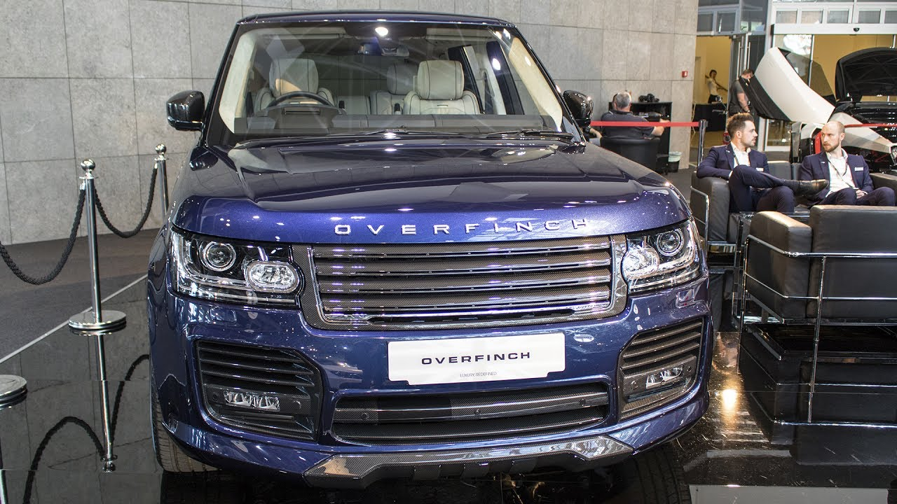 overfinch range rover london edition 1 of 1 top marques monaco 2017 hq youtube. Black Bedroom Furniture Sets. Home Design Ideas