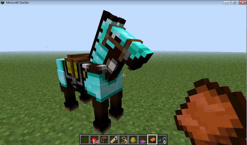 Como domar y montar un caballo en minecraft  174   YouTube