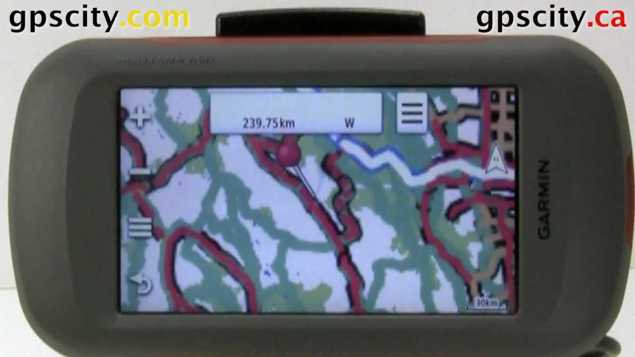 Loading Backroads GPS Maps onto the Garmin Montana GPS - YouTube
