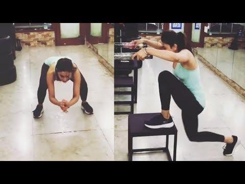 Rakul Preet Singh Gym Workout Video || Rakul Gym Work out || Filmylooks