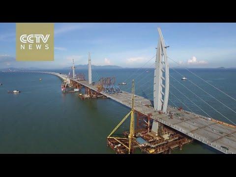 Hong Kong-Zhuhai-Macao Bridge, the world's longest cross-sea bridge