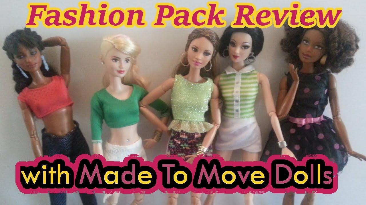 All Made Move Barbie