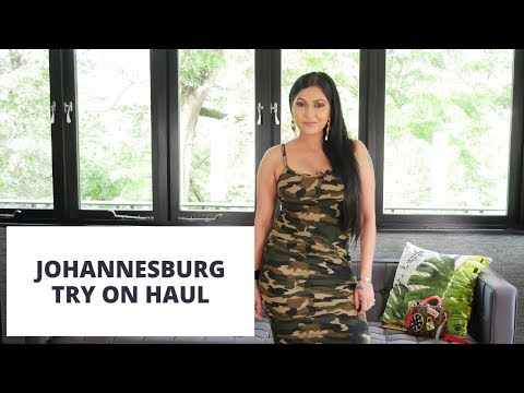 Johannesburg | Clothing Try on haul | Sonal Kotak Maherali