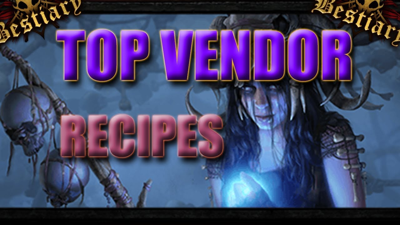 3 2 Vendor Recipes You NEED to know