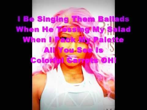 Nicki Minaj-Dang A Lang +Lyrics!!!