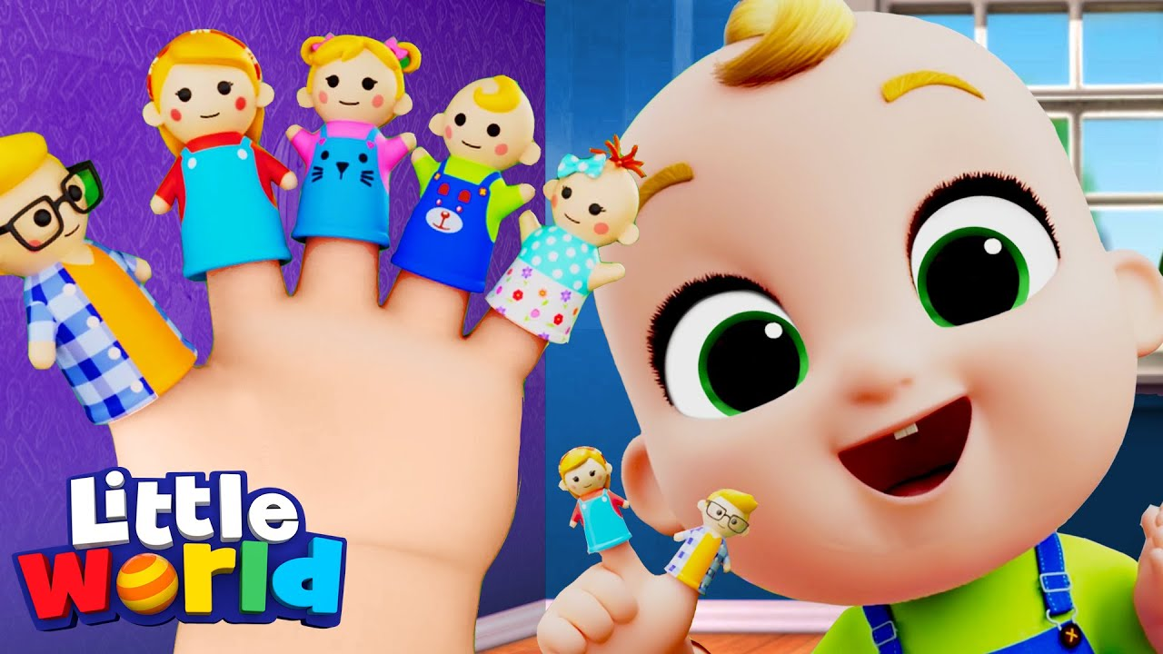 Finger Family Song | Little World Sing Alongs And Nursery Rhymes