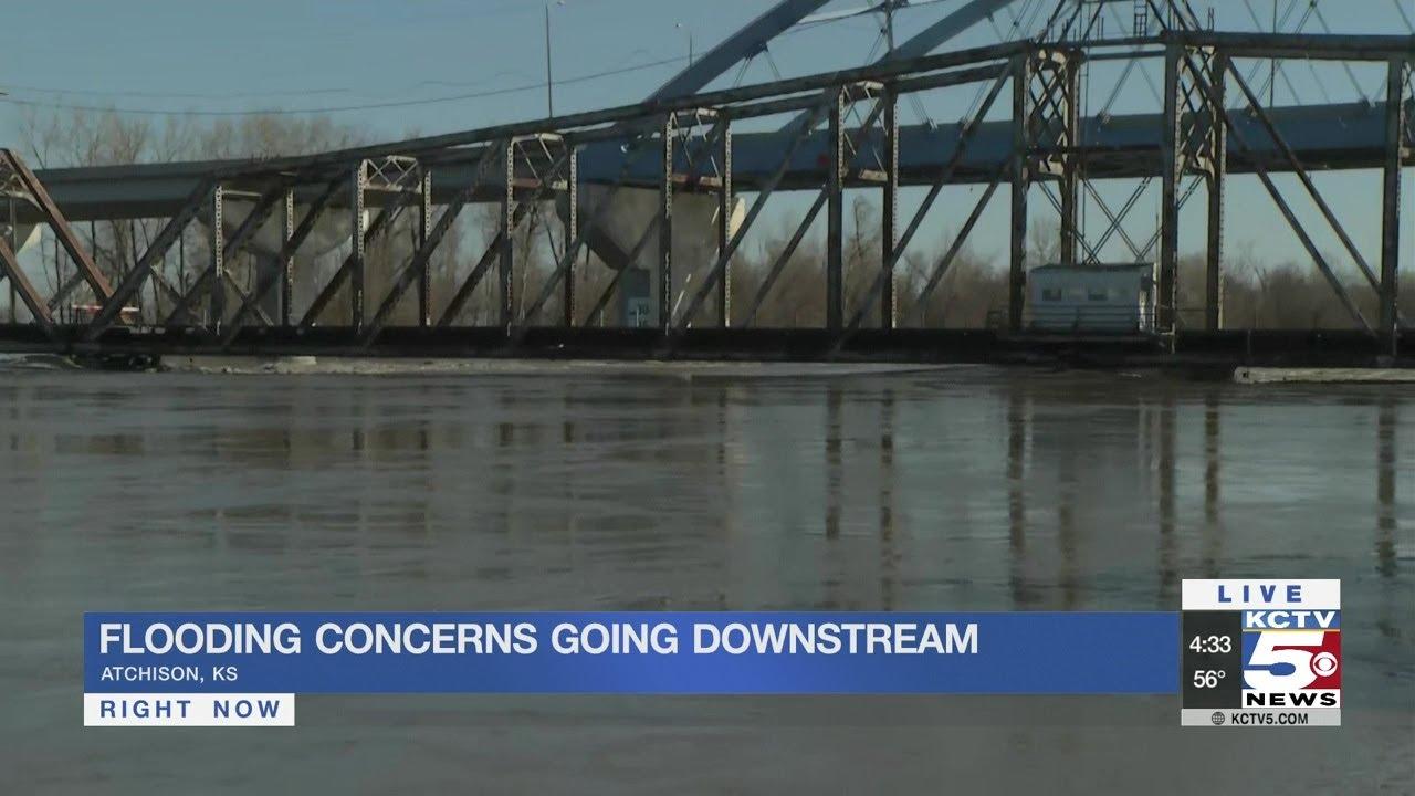 Missouri River flooding concerns make their way downstream