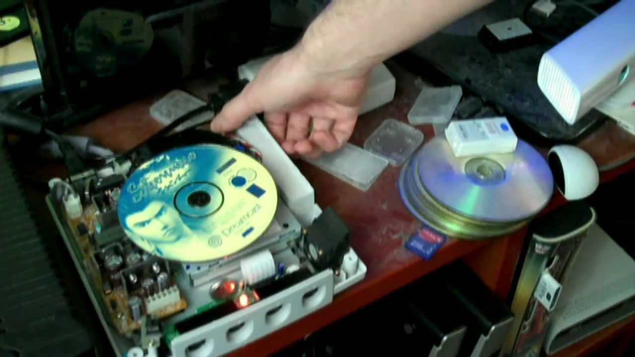 recovering / repairing / restoration of gd rom drive | ASSEMbler