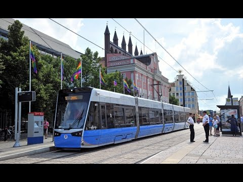 stra enbahn rostock 2015 tram rostock youtube. Black Bedroom Furniture Sets. Home Design Ideas