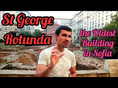 The Oldest Building in Sofia: St George Rotunda Church (Rotonda)