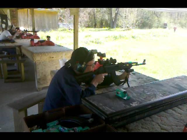 Shooting my SLR-95 (bulgarian ak variant)