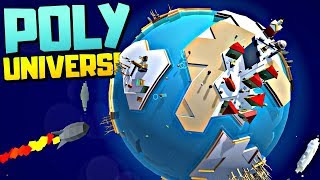 EVERYONE WILL STARVE 😱 - Space Colony Management Sim - Poly Universe Gameplay Video