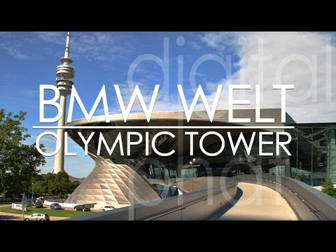 BMW Welt Munich And Olympic Tower Tour