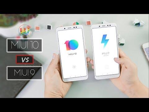 MIUI 10 vs MIUI 9 Speed Test 🔥🔥🔥