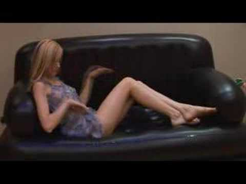 angelique on the couch from YouTube · Duration:  21 seconds