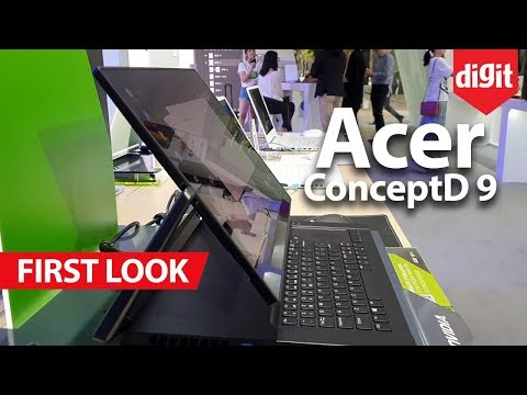 Acer ConceptD 9 Creator Laptop First Look