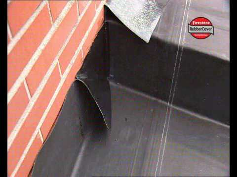 Epdm Rubber Roof Installationepdm Flat Roof Firestone Uk Video