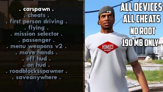 Gambar cover 190 MB ONLY !!! GTA SA LITE APK + DATA WITH ALL CHEATS WORKING | NO ROOT | WORK IN ALL GPU