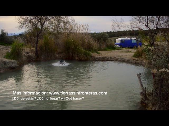 Pozas baños Termales de Santa Fe: balneario natural gratis de aguas termales