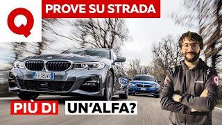 BMW Serie 3 2019: ecco perché è più estrema della Giulia