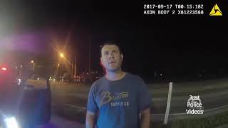 Police Traffic Stop on Police For Speeding