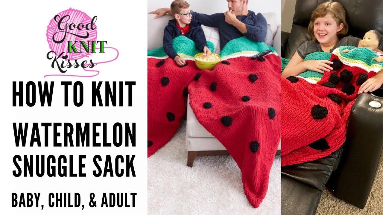 GRACIE: Adult snuggle sack