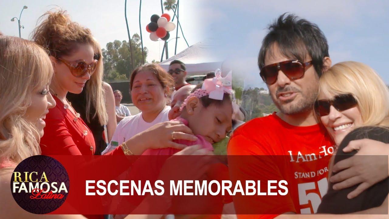 Beto cuevas y las chicas van a la carrera contra el cáncer  | Rica Famosa Latina | Temporada 1