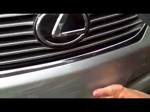 Lexus touchup paint