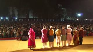 Download Hindi Video Songs - Standing ovation at the end of Katyar Kaljat Ghusli, 100th prayog at Vasantotsav, Pune