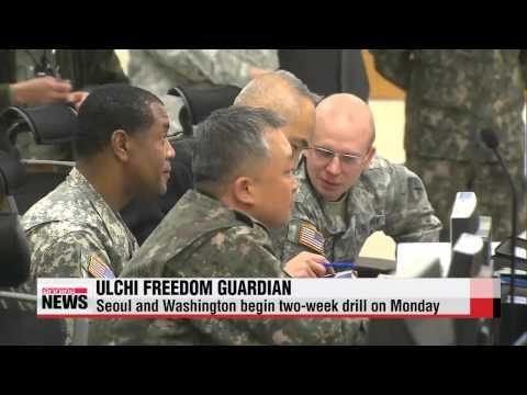 S. Korea, U.S. begin Ulchi Freedom Guardian exercises   한미, 오늘부터 을지프리덤가디언 연습 시작