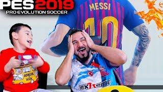 EGEMEN KAAN MESSİ ÇIKARTTI! | PES 2019 TOP AÇILIMI
