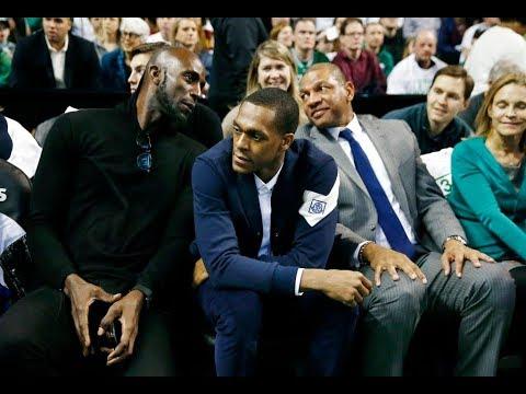 Boston Celtics Fans Give Kevin Garnett, Rajon Rondo Huge Ovation At Paul Pierce's Jersey Retirement