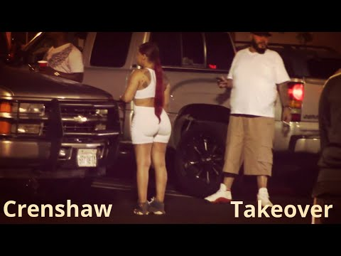 CRENSHAW TAKEOVER    Burnout Compilati  Music  Lil Joe 211