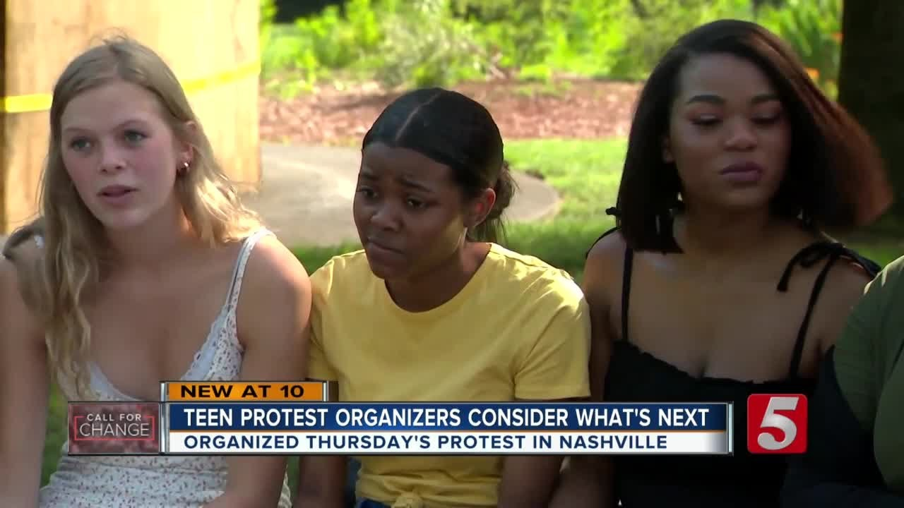 Six teens react to massive protest in Nashville they organized