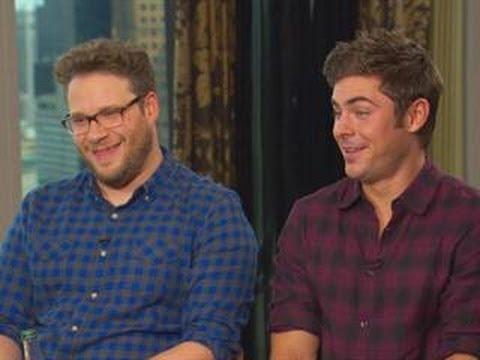 Jerrod Carmichael Interviews His 'Neighbors' Co-Stars Seth Rogen & Zac Efron