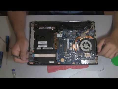 SonyVaio VPSEH fan cleaning audio jack repair