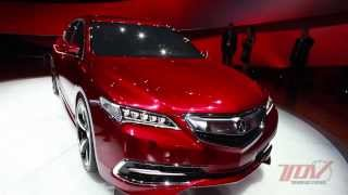 TOV Video: 2015 Acura TLX Prototype Exterior Overview with Lead Designer Jared Hall