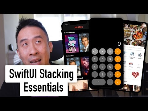 SwiftUI Essentials - HStack VStack ZStack Unexpected Spacing And Alignment