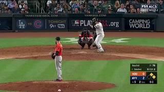 Gary Sanchez RBI Single vs Astros | Yankees vs Astros Game 5 ALCS
