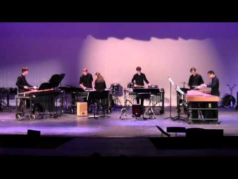"""2016 College Station HS Percussion Ensemble - """"Catching Shadows"""" 02/27/2016"""