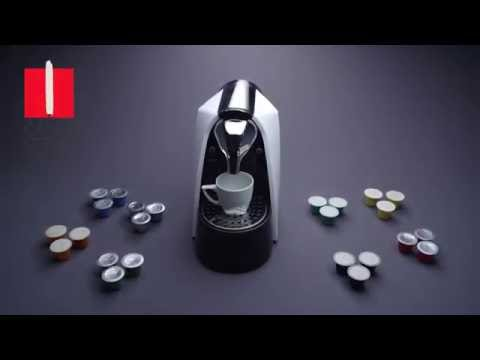 Caffe Ottavo Nespresso Compatible Coffee Machine & Gourmet Coffee Capsules