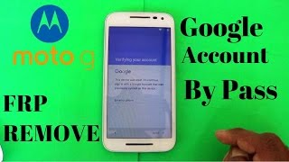 BYPASS GOOGLE Account verification on  Moto WITH OUT  PC  OTG