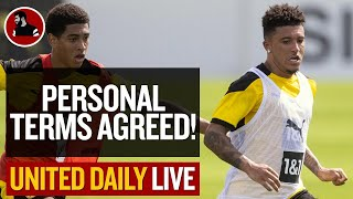 Sancho: Personal Terms Agreed! | Man Utd Latest News